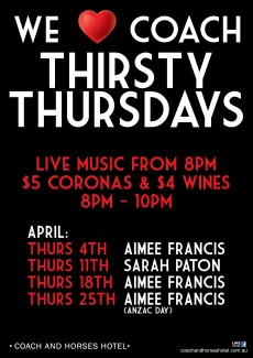 COACH_Thirsty-Thursdays W